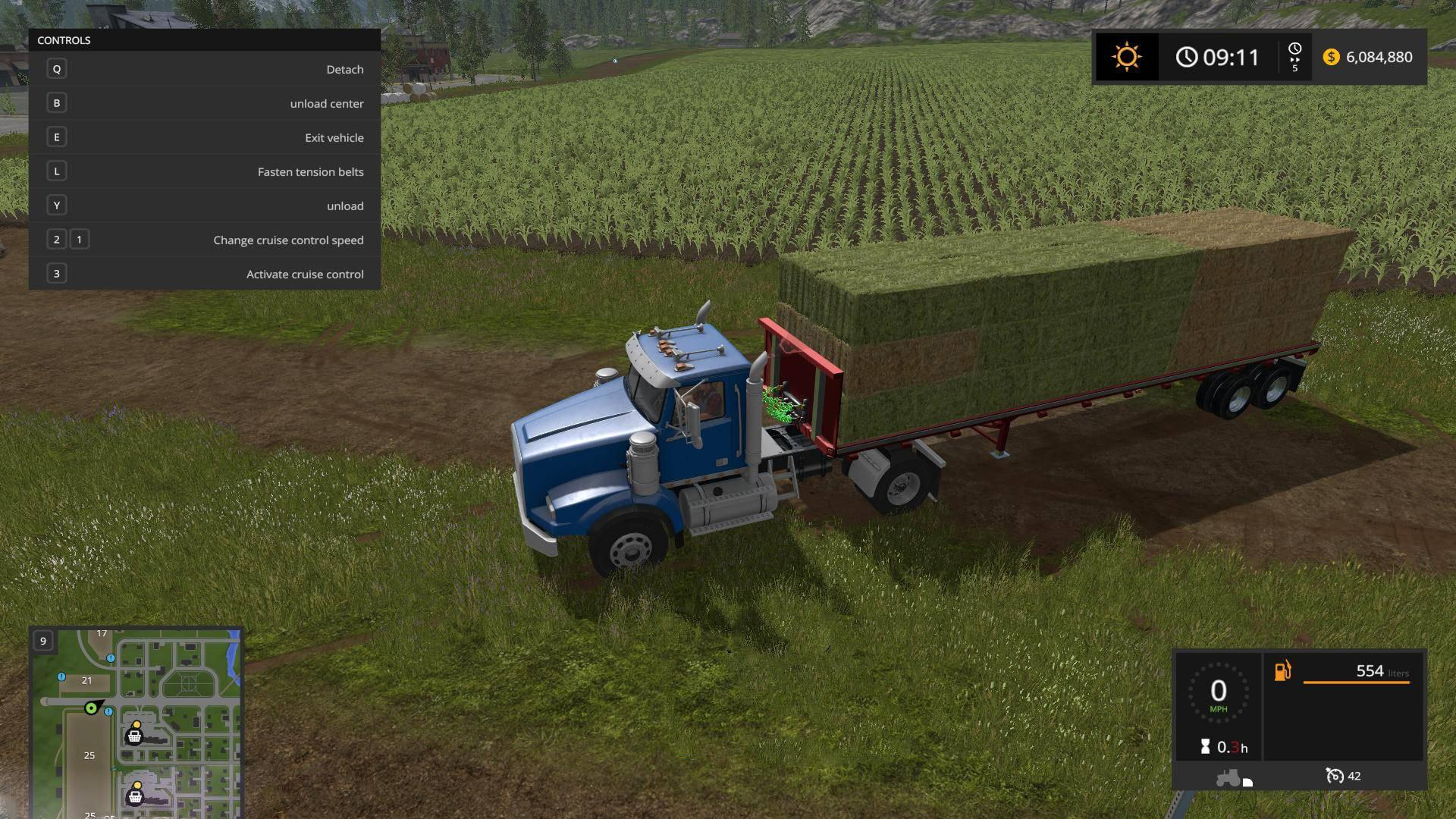 US TRAILER WITH AUTOLOAD FEATURE V3 0 FS17 - Farming
