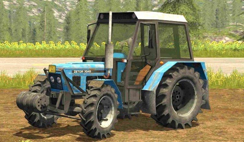 ZETOR 7045 HS FS17 - Farming Simulator 17 mod / FS 2017 mod