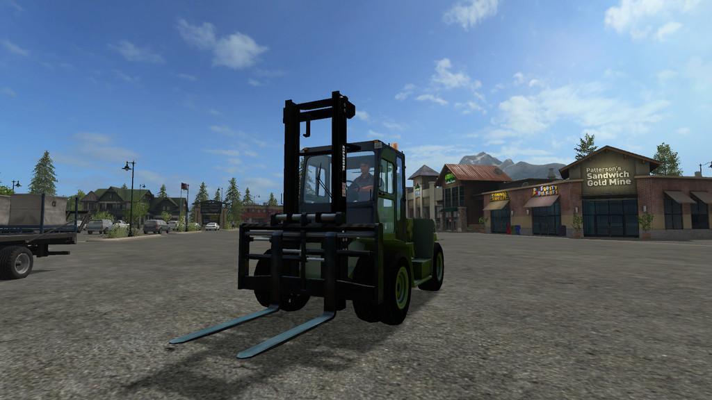 CLARK C80D V2 FS 17 - Farming Simulator 17 mod / FS 2017 mod