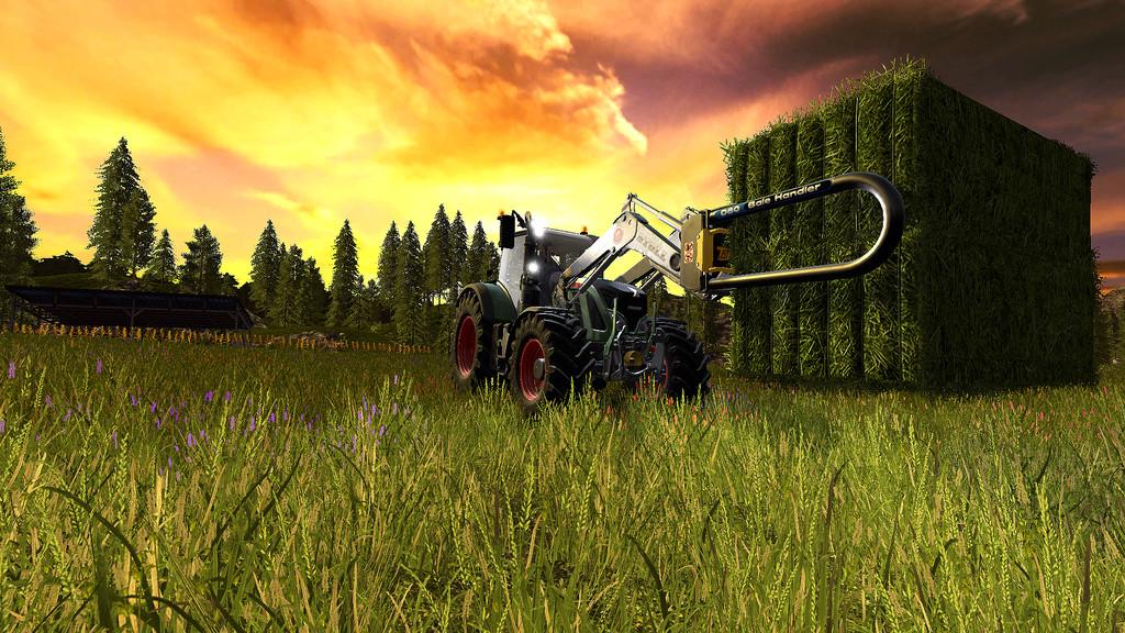 D80 Bale Stacker V 1 0 FS17 - Farming Simulator 17 mod / FS