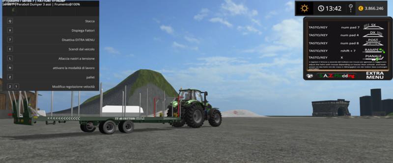 Fattori TF 1140 BP V 1 FS17 - Farming Simulator 17 mod / FS