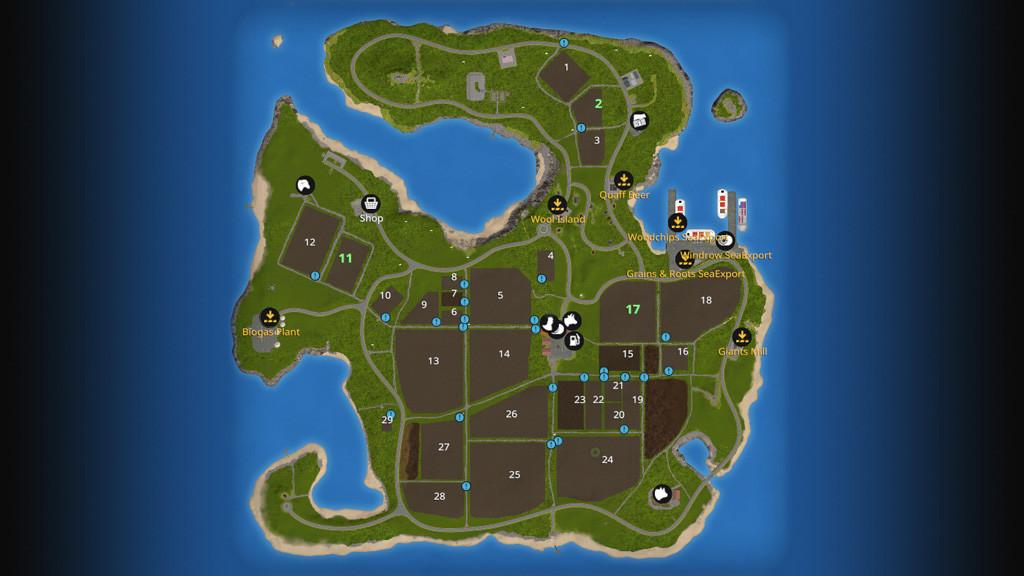 Canadian Map Fs17%0A Giants Island    V         FS