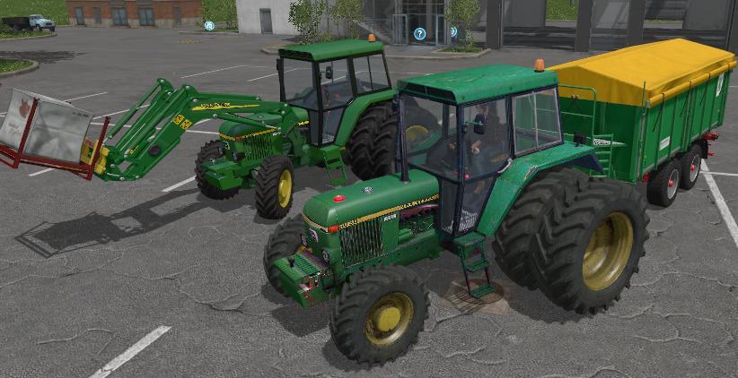 JOHN DEERE 3030 FRONTLOADER V1 1 FS17 - Farming Simulator 17 mod