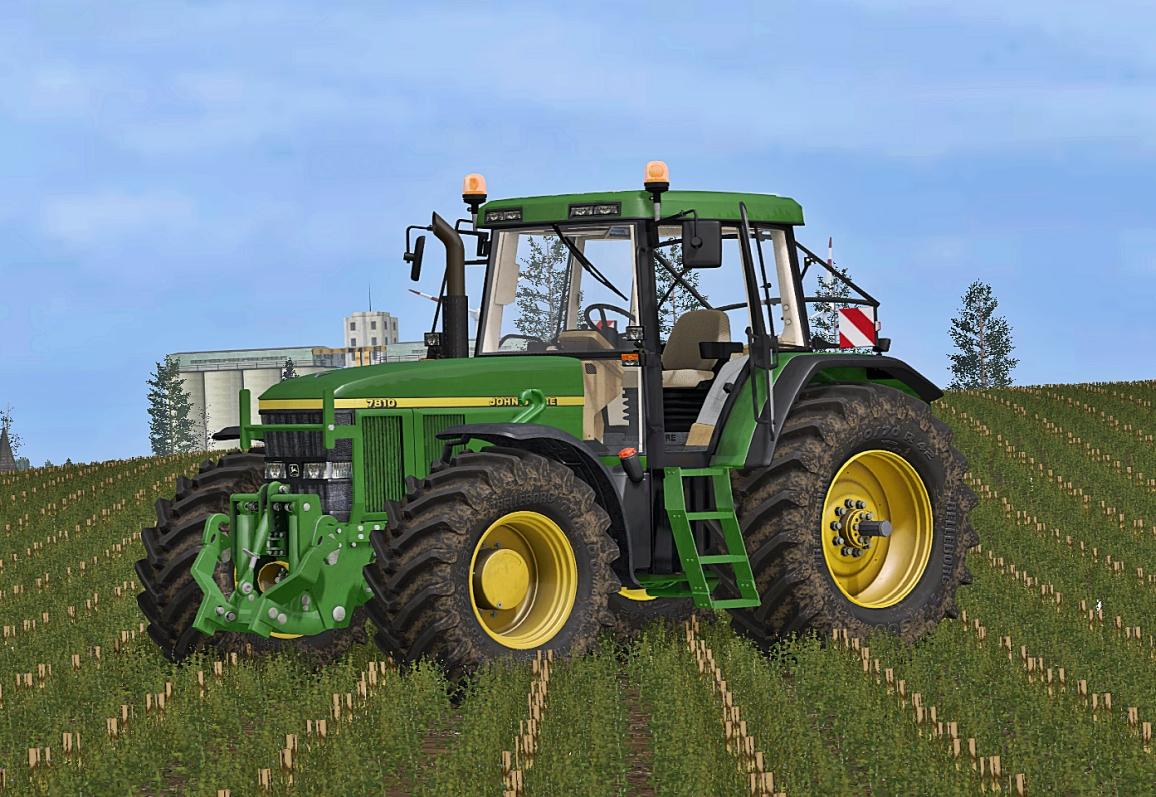 John Deere 7710 7810 Fs 17 Farming Simulator 17 Mod Fs