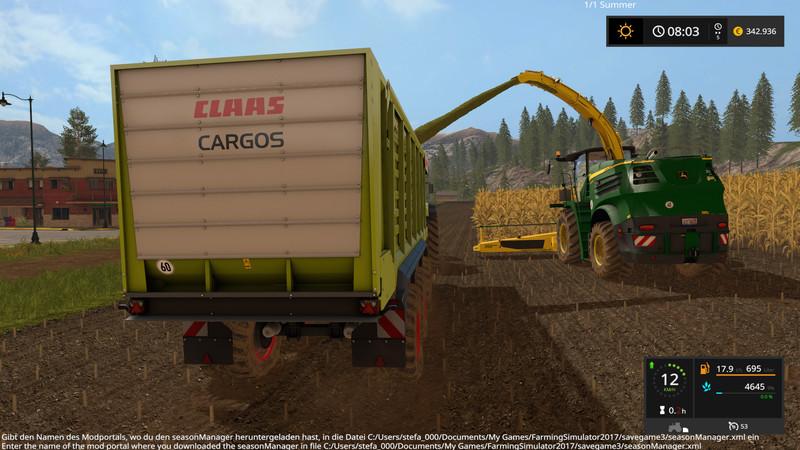John Deere 8000 Series V 2 0 FS 17 - Farming Simulator 17 mod / FS