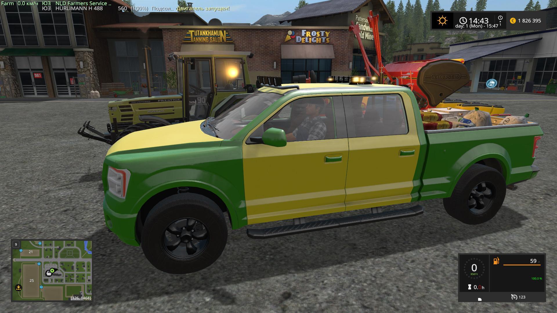 Lizard Pickup Tt Service V2 0 Fs17 Farming Simulator 17