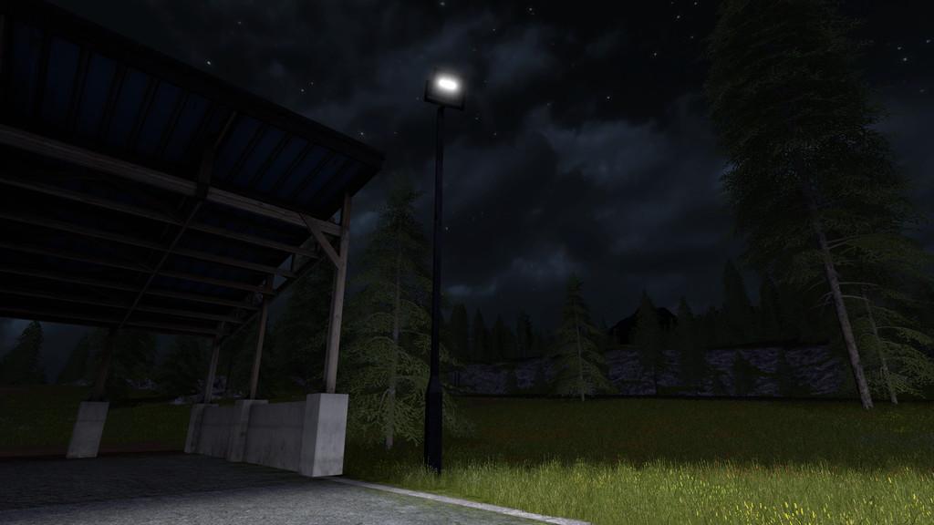 Placeable Floodlight Fs17 Farming Simulator 17 Mod Fs
