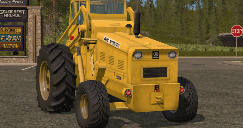 Volvo Lm 218 Wheel Loader V 1 17 Fs17 Farming Simulator