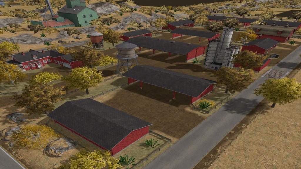 Farming Simulator 17 American Map.American Outback V1 0 Fs17 Farming Simulator 17 Mod Fs 2017 Mod