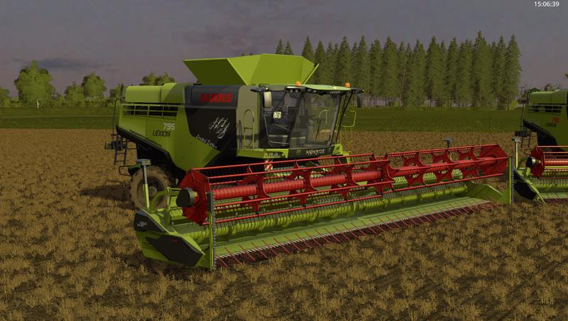 claas lexion 795 monster edition v 1 0 farming simulator 17 mod fs 2017 mod. Black Bedroom Furniture Sets. Home Design Ideas