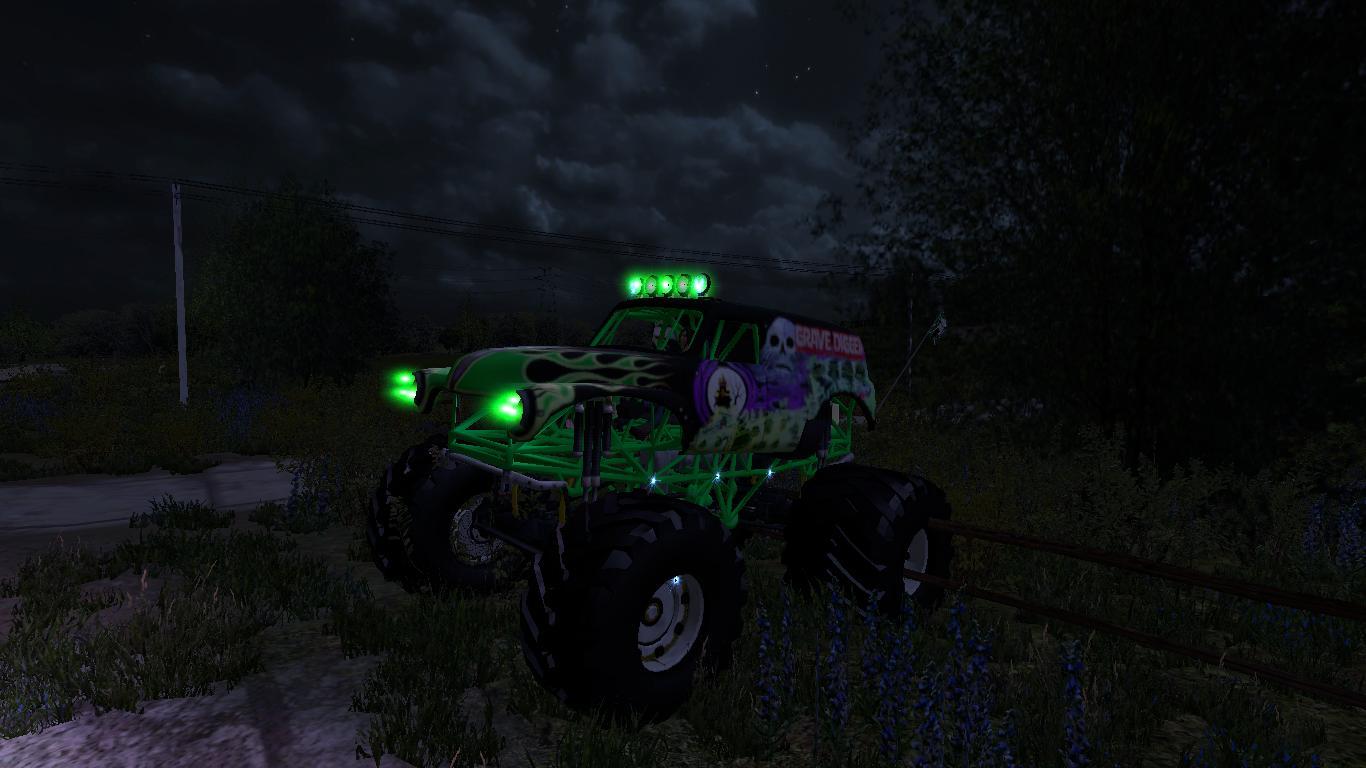 Dodge Cummins And Chevy Monster Truck V1 0 Fs17 Farming
