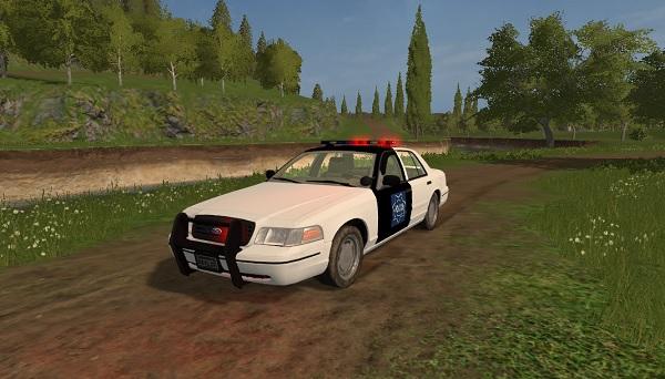 ford crown victoria police cruiser v1 0 fs17 farming simulator 17