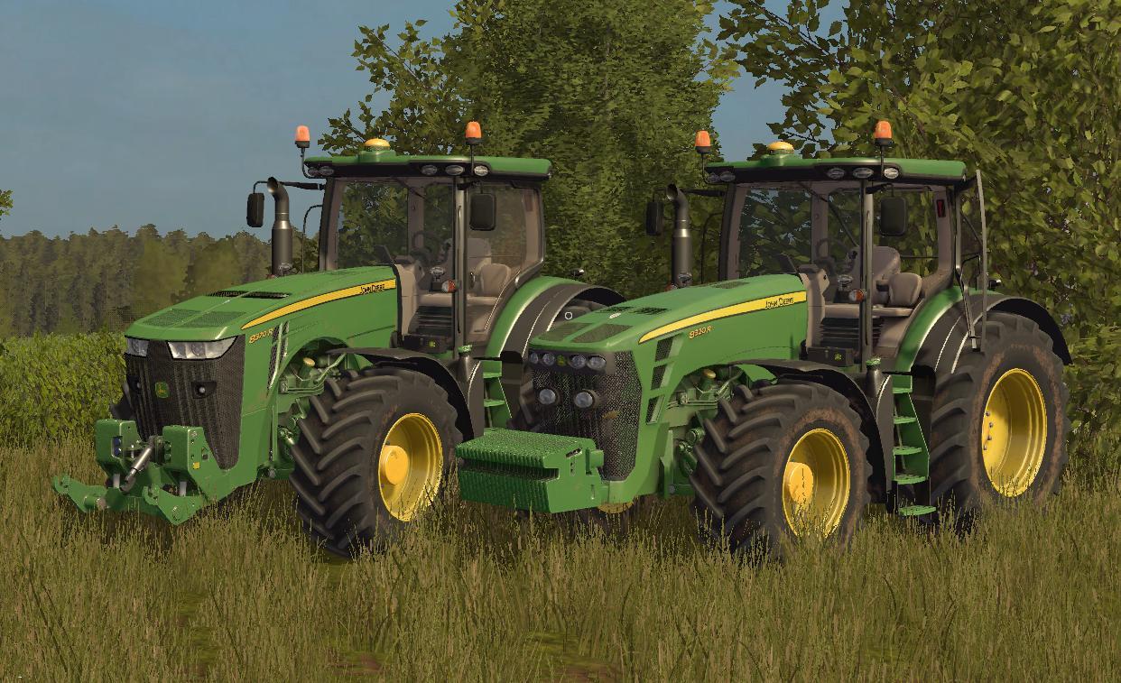 john deere 8r new and old model v2 0 fs17 farming. Black Bedroom Furniture Sets. Home Design Ideas