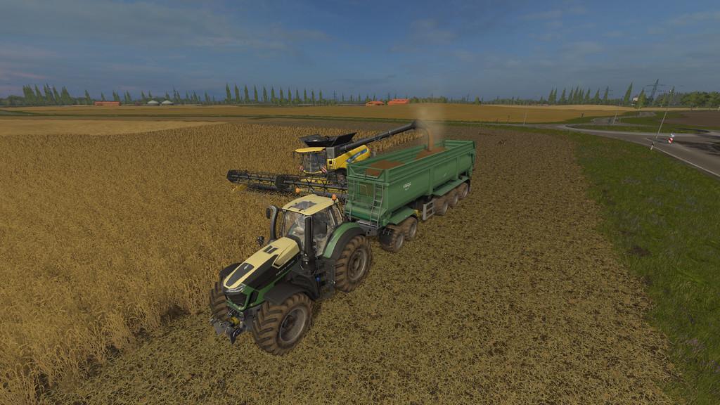 KRAMPE BANDIT SEMI TRAILER V1 0 0 0 FS 17 - Farming Simulator 17 mod