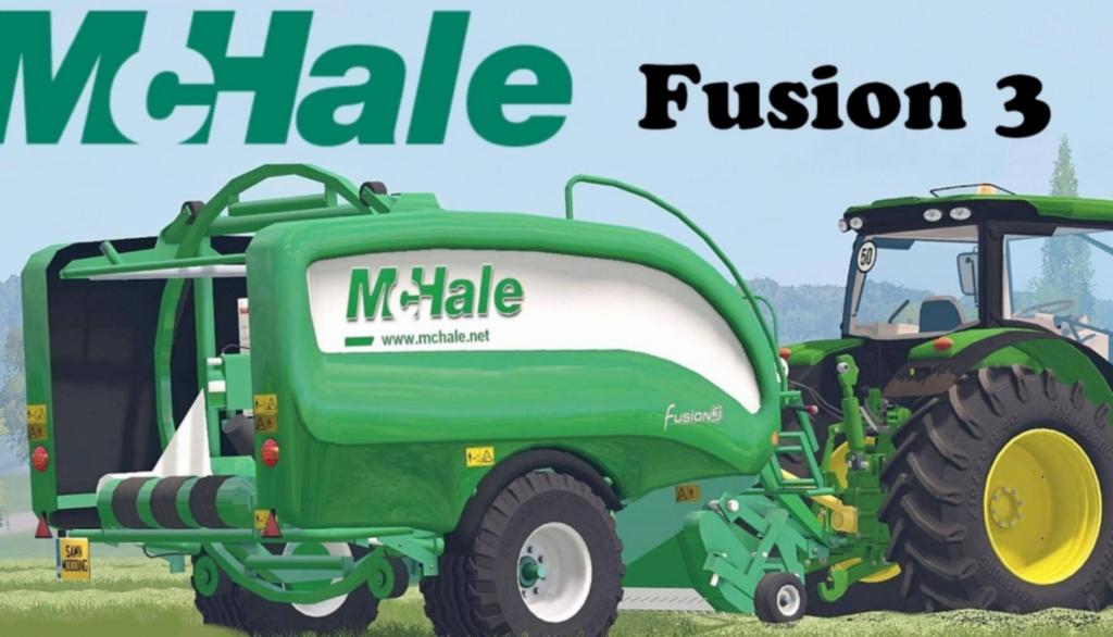 mchale fusion 3 baler wrapper combo fs 17 farming simulator 17 mod rh fsmods17 com mchale 991 bale wrapper manual mchale orbital wrapper user manual
