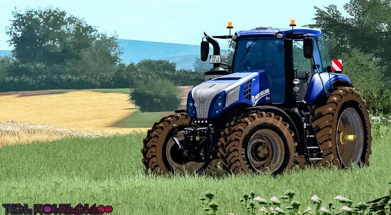 New holland T8 V 1 1 FS17 - Farming Simulator 17 mod / FS