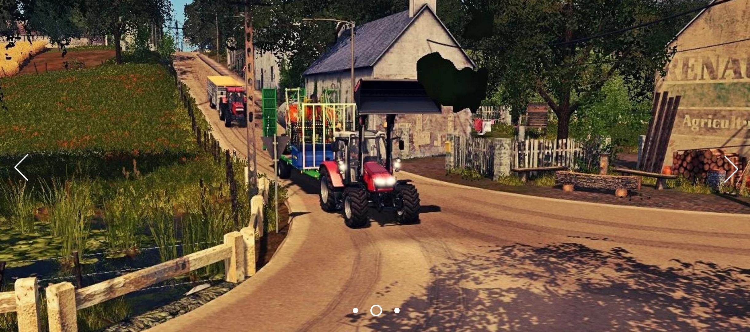 Canadian National Map V 71 FS17 Farming Simulator 17 mod FS