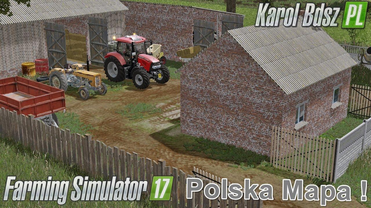 polska mapa by karol bdsz fs17 farming simulator 17 mod fs 2017 mod. Black Bedroom Furniture Sets. Home Design Ideas