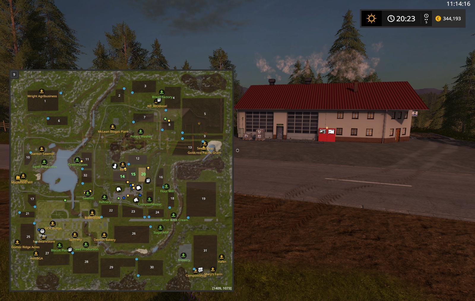 production map v1 5 0 0 fs17 farming simulator 17 mod fs 2017 mod. Black Bedroom Furniture Sets. Home Design Ideas