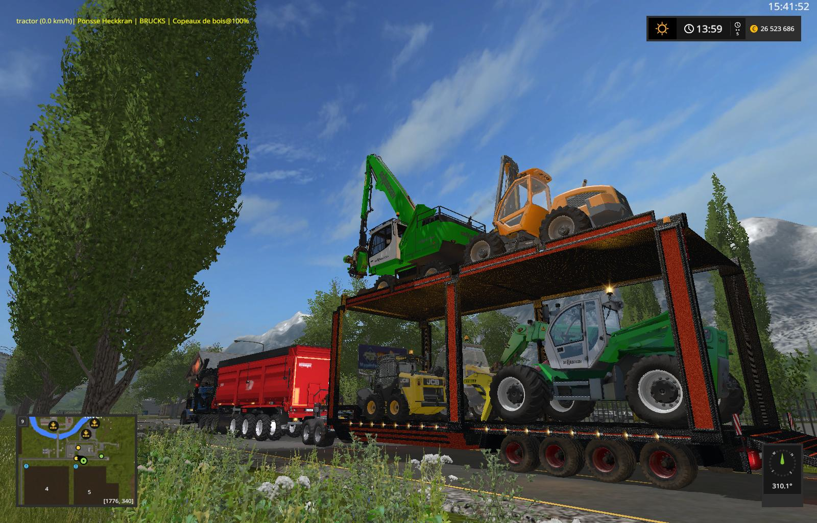 queen of transport v1 0 fs 17 farming simulator 17 mod. Black Bedroom Furniture Sets. Home Design Ideas