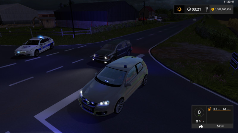 Vw Golf 5 Unmarked Police Update V 2 0 Fs 17 Farming