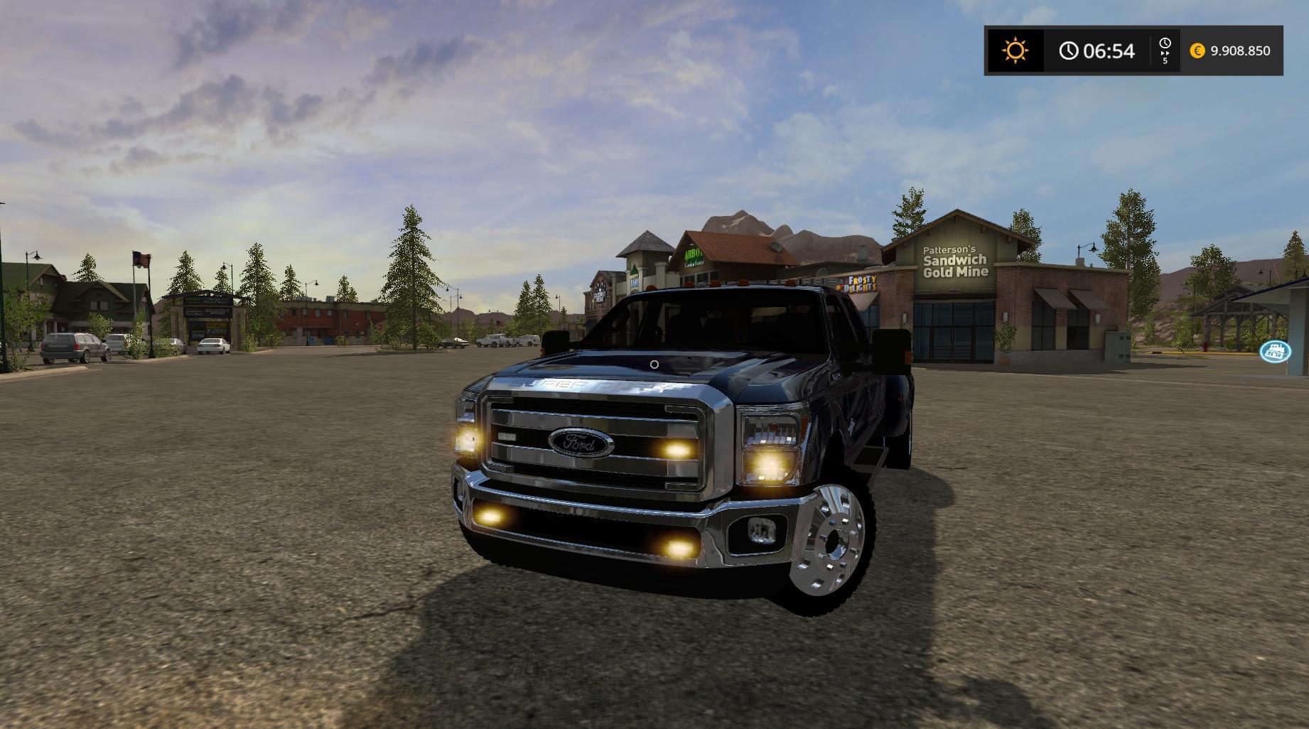 ford f350 work truck v1 0 fs17 farming simulator 17 mod fs 2017 mod. Black Bedroom Furniture Sets. Home Design Ideas