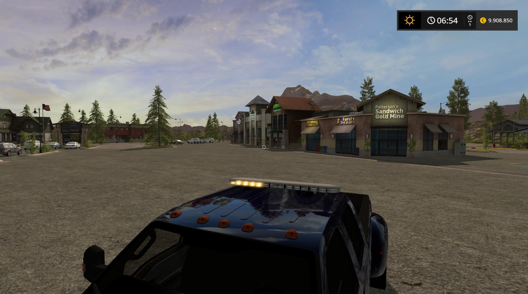 Ford F350 Work Truck V1 1 Fs17 Farming Simulator 17 Mod