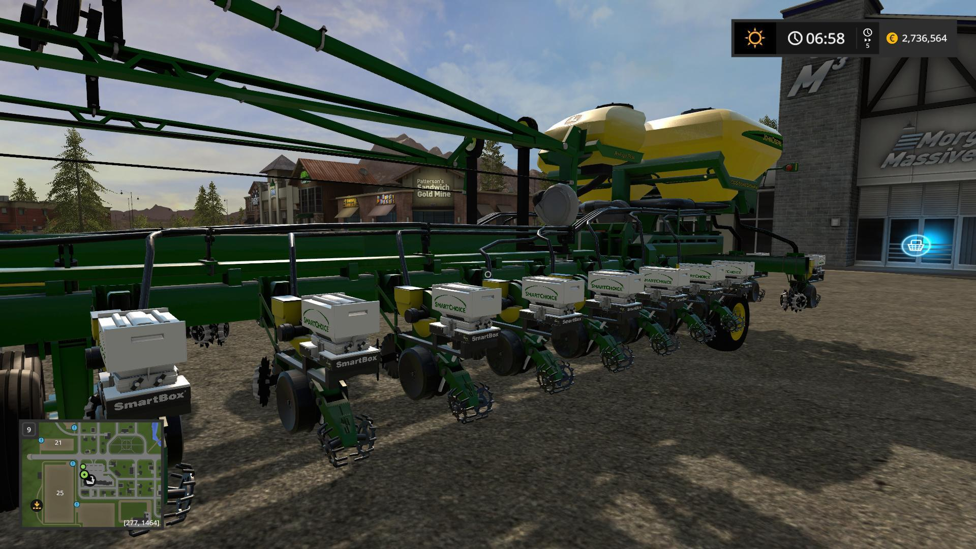 JOHNDEERE DB60 V5.0.0 FS17 - Farming Simulator 17 mod / FS ...