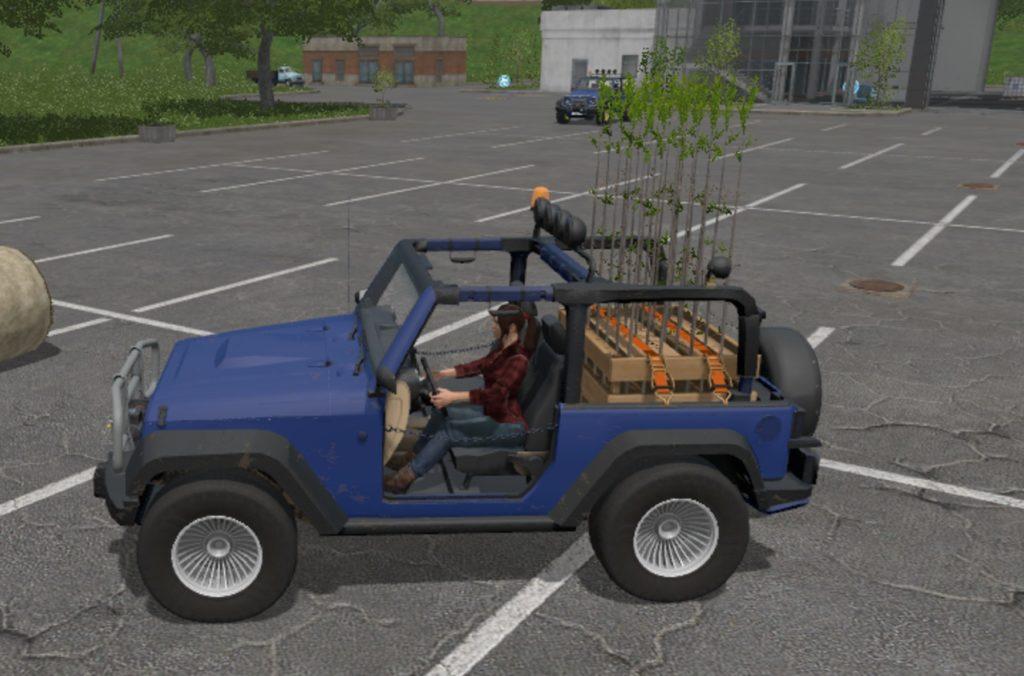 Jeep Wrangler FS 17 Farming Simulator 17 mod FS 2017 mod