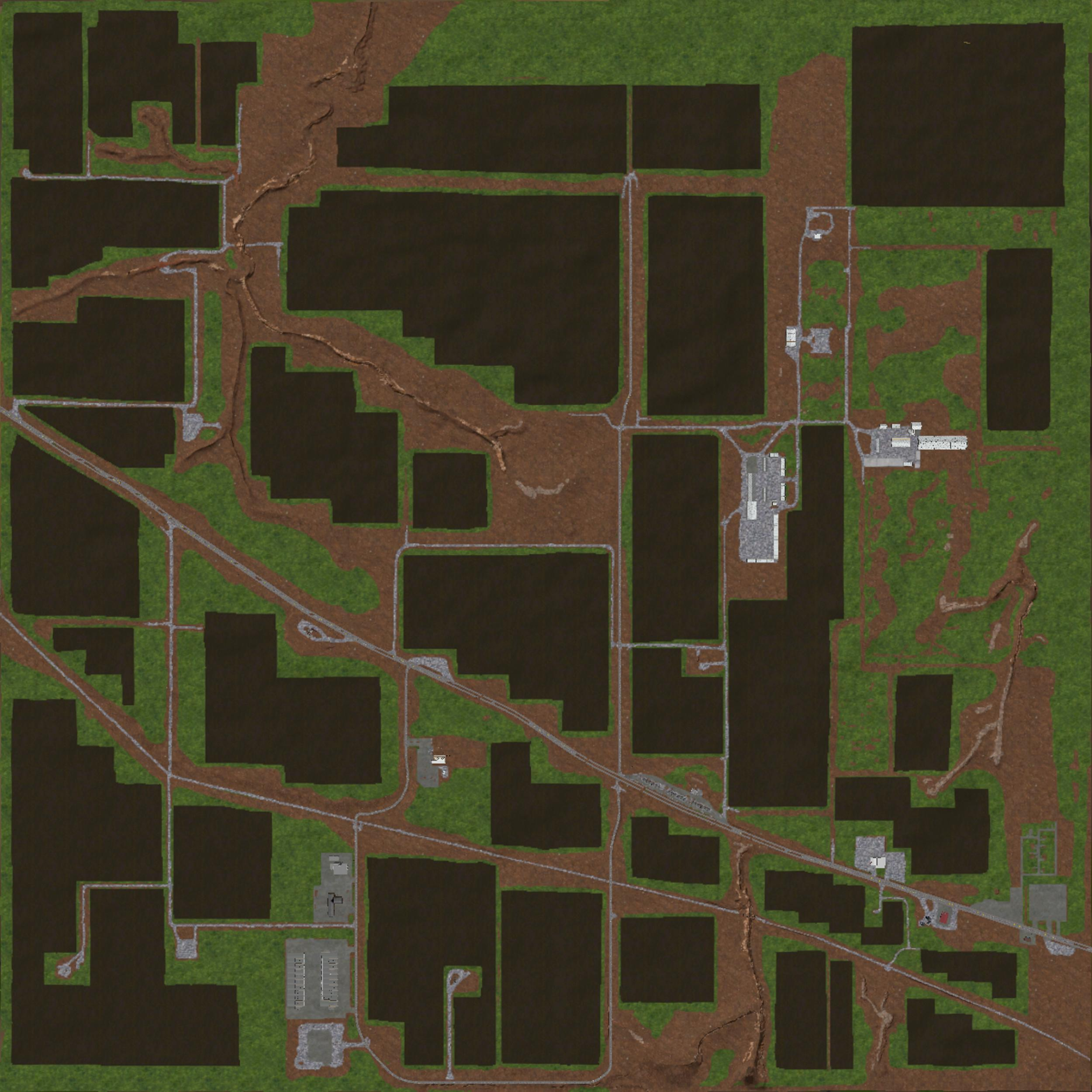 NORTH WEST TEXAS A X MAP FS Farming Simulator Mod FS - Us map mod fs 17