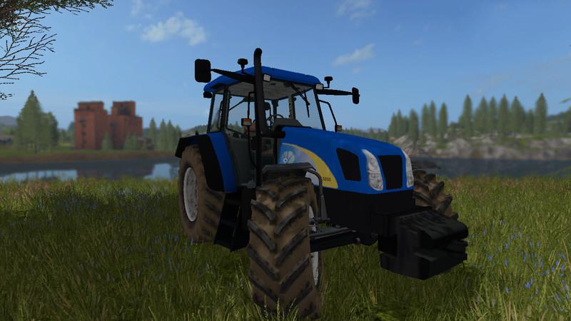 New Holland T5050 V 1 0 0 0 FS17 - Farming Simulator 17 mod