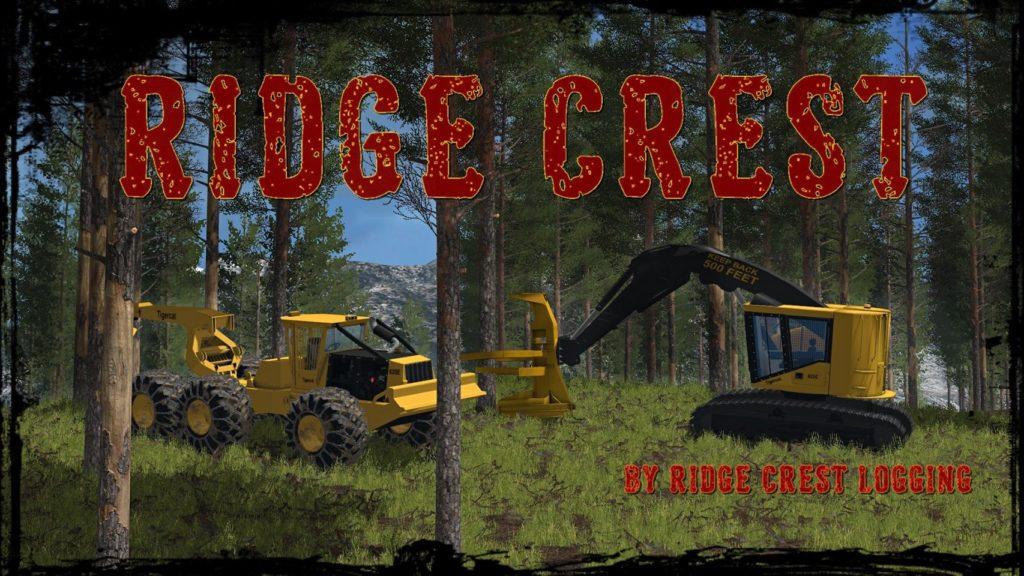 Canadian Map Fs17%0A Ridge Crest Logging Map FS