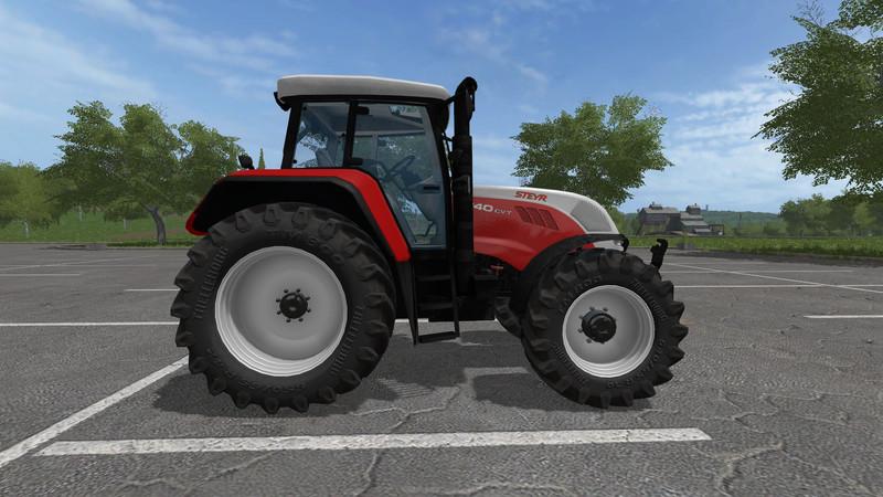 STEYR 6140 CVT 2G V 11 FS17  Farming Simulator 17 mod