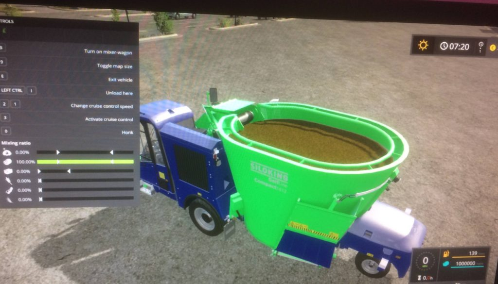 SiloKing 1000000 L FS17 - Farming Simulator 17 mod / FS 2017 mod