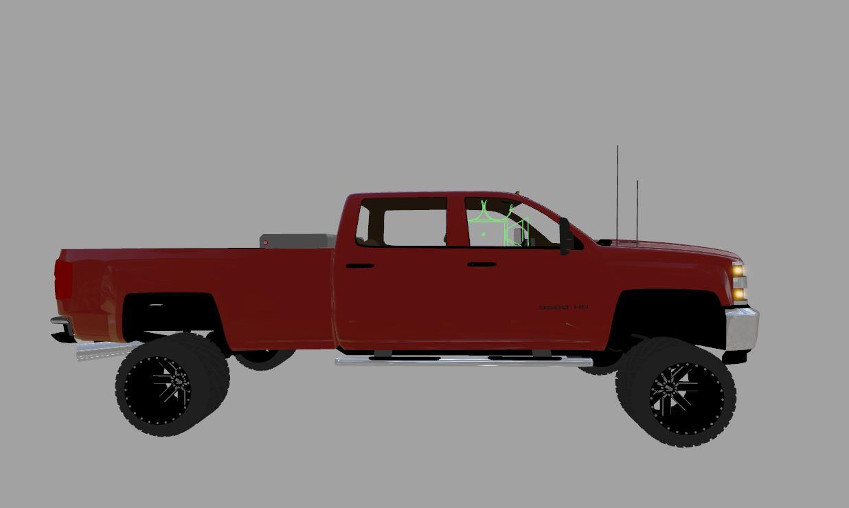 chevy silverado 3500hd duramax v1 0 fs17 farming simulator 17 mod fs 2017 mod. Black Bedroom Furniture Sets. Home Design Ideas