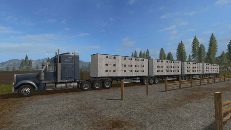 camions australie road train
