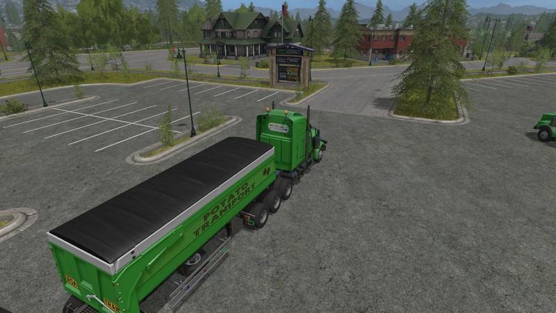 Custom Road Train Pack V 1 0 FS17 - Farming Simulator 17 mod / FS