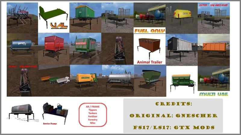 Frame Equipment Pack V 1