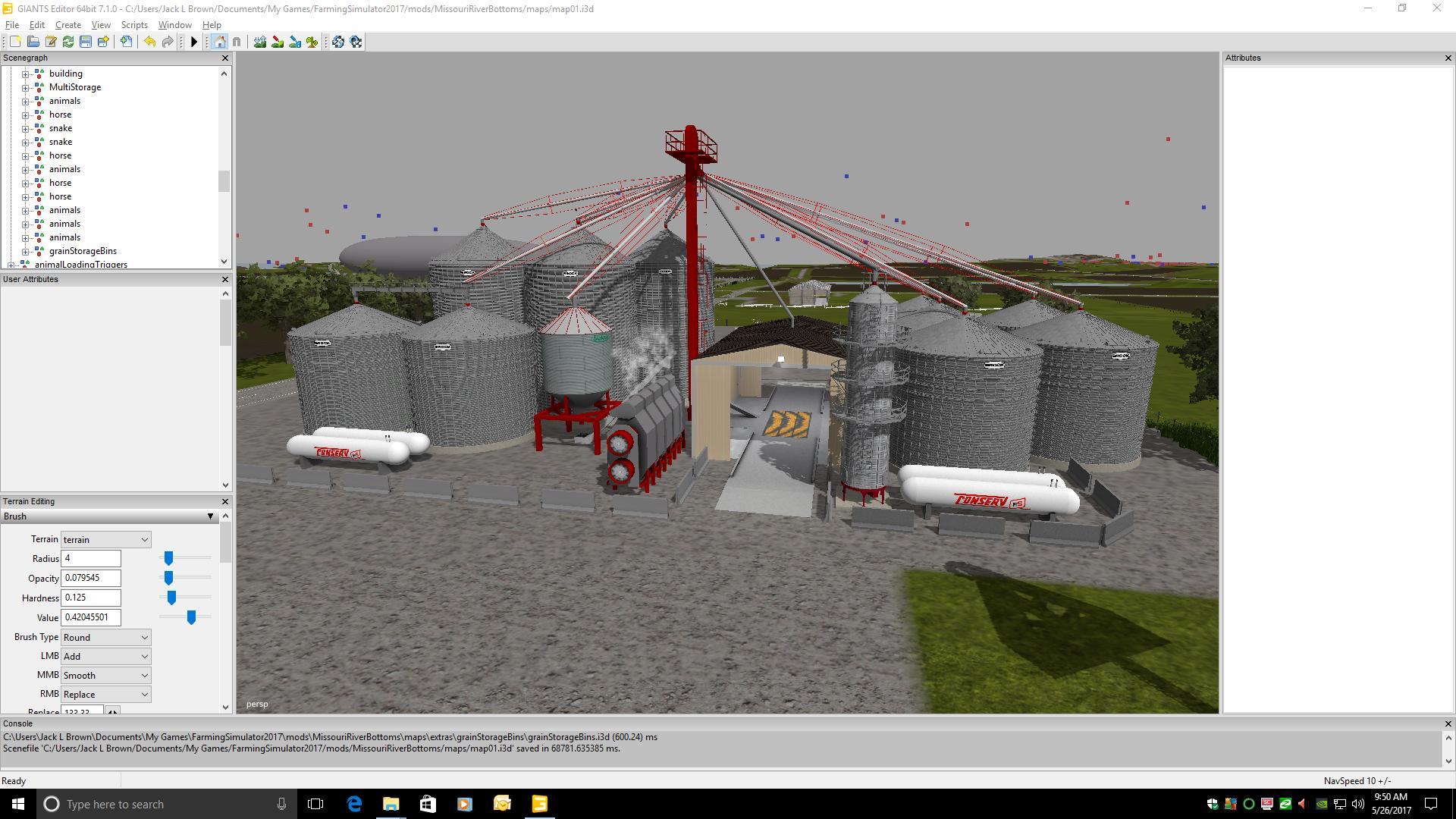 GRAIN STORAGE BINS V1 0 FS17 - Farming Simulator 17 mod / FS 2017 mod