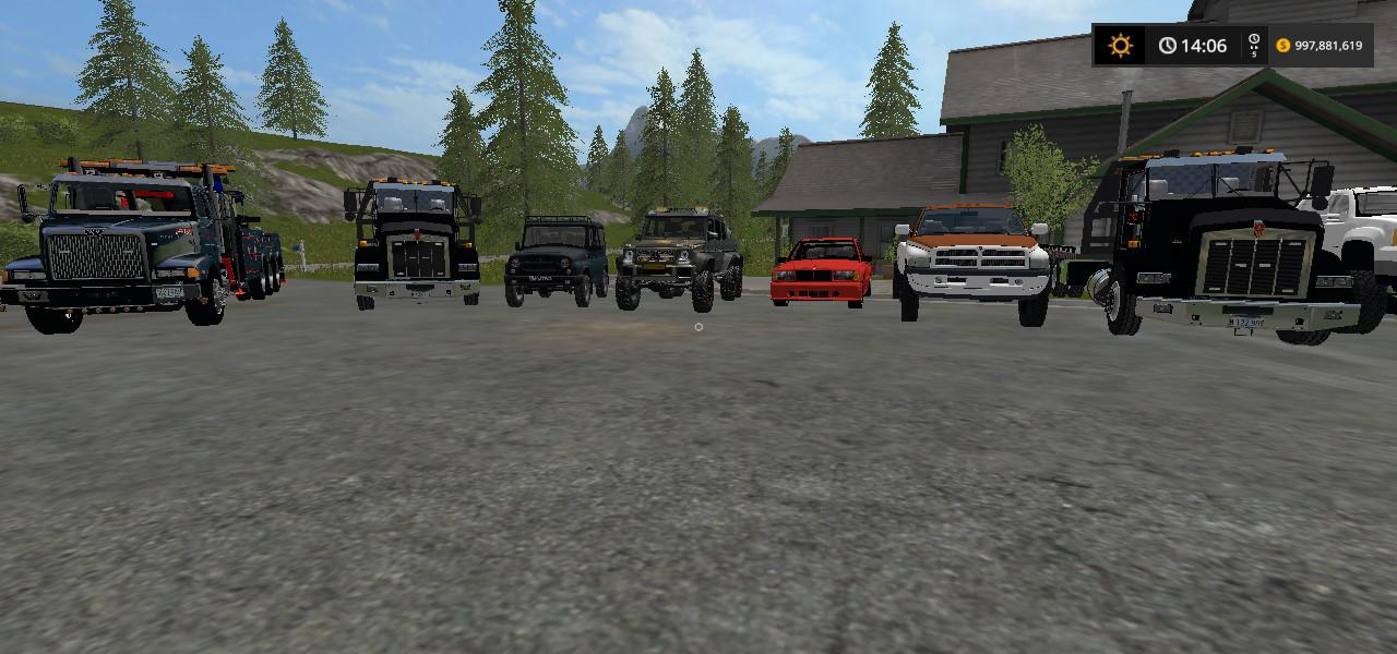 HEAVY TOWING AND REPO MOD PACK V1 0 FS17 - Farming Simulator