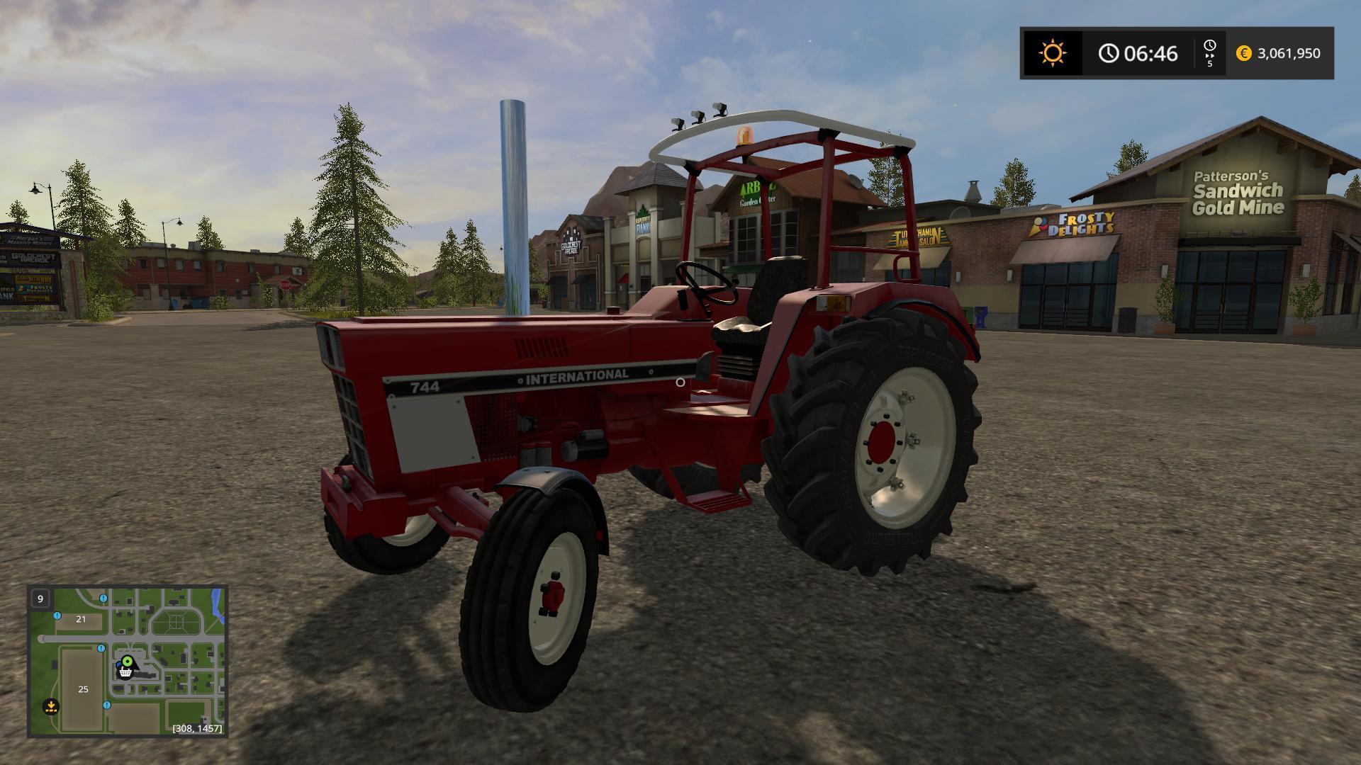 2017 Unimog Price >> IHC 744 V1.2 FS17 - Farming Simulator 17 mod / FS 2017 mod