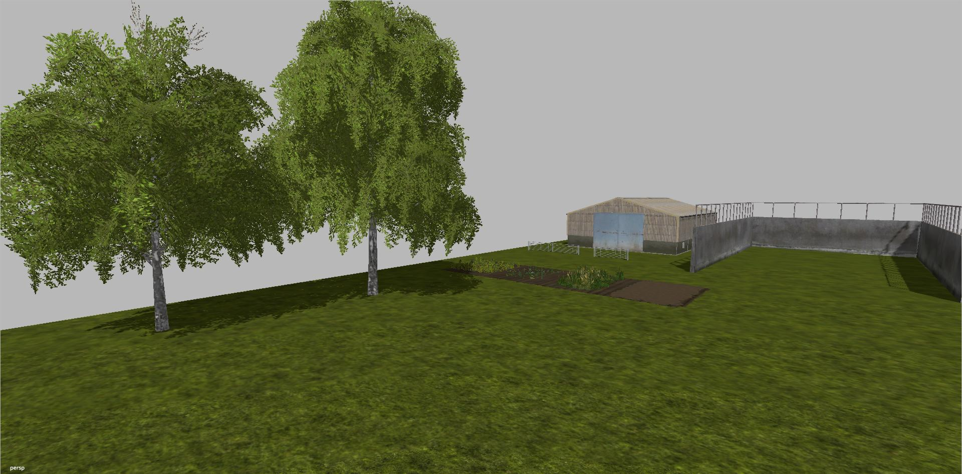 LANCYBOI BLANK ROLLING HILL STARTER MAP FS17 Farming Simulator 17