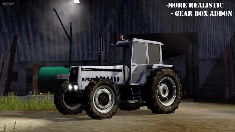 Lamborghini 854 V 2 1 FS17 - Farming Simulator 17 mod / FS