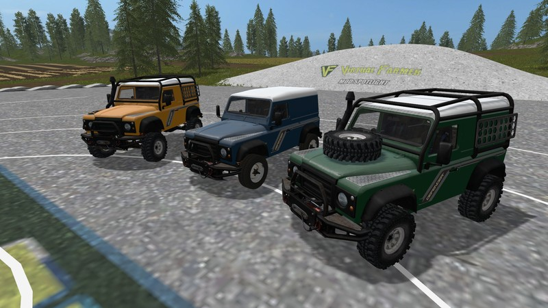 Land Rover Defender 90 V 1 0 0 0 Fs17 Farming Simulator