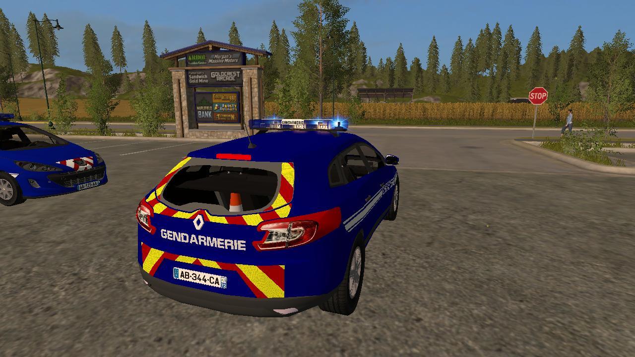 pack gendarmerie police fs17 farming simulator 17 mod fs 2017 mod. Black Bedroom Furniture Sets. Home Design Ideas