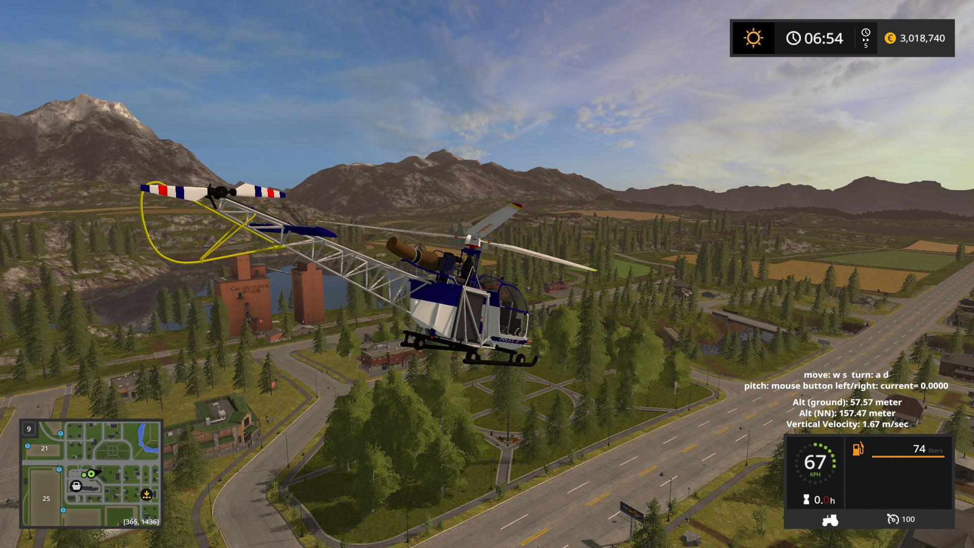 heli simulator with Police Heli V1 0 Fs17 on  in addition Turnigy 9x 9 Channel Transmitter W Module 8 Channel Receiver V2 Firmware likewise Police Heli V1 0 Fs17 moreover Fa223 Drache also 659745.