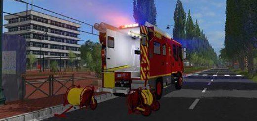 Antos Fire Department Skin Fictional v1 0 FS17 - Farming