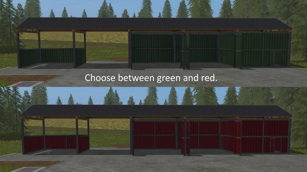 Slow Config Hall V 1 0 Fs17 Farming Simulator 17 Mod