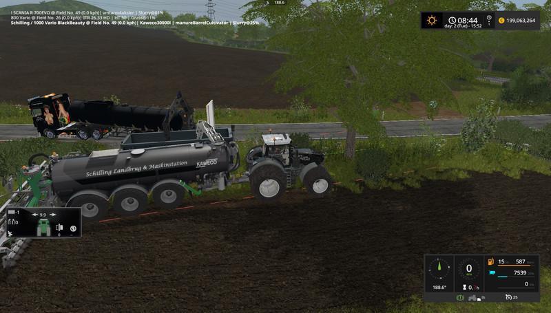 WM TARM LIQUID MANURE TRAILER V1 FS17 - Farming Simulator 17 mod