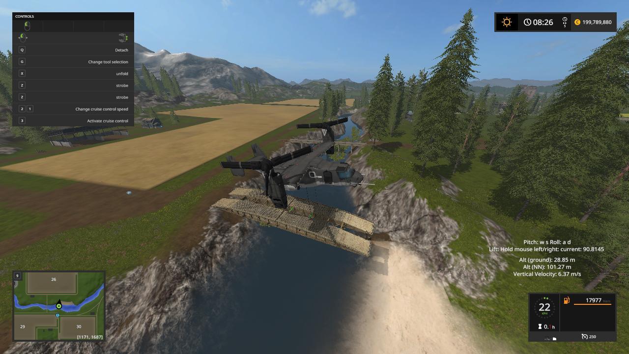 Boeing V 22 Osprey Mod By Lambo V1 Fs17 Farming